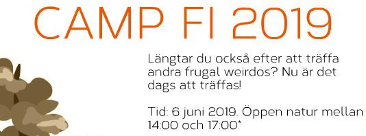 Camp FI 2019 – 6 juni i Stockholm