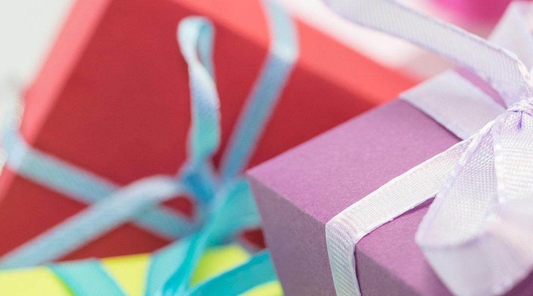 Kostnadstak för presenter till barnkalas